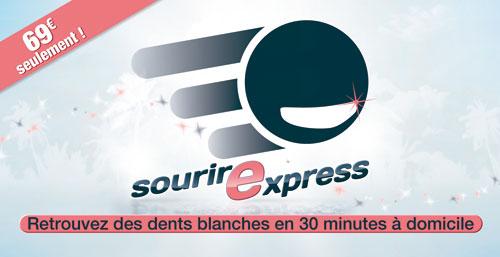 sourirexpress blanchiment dentaire à domicile Le Mans