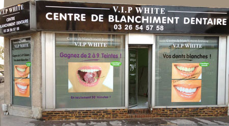 vip white centre de blanchiment dentaire à épernay
